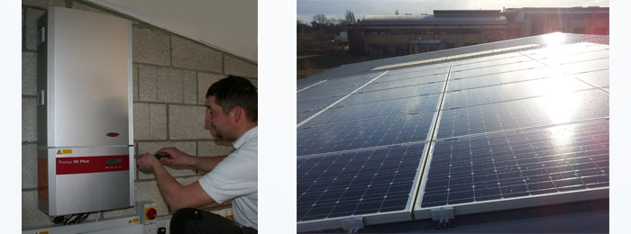 Cambridge Solar's 7 kWp solar panel installation in Waterbeach