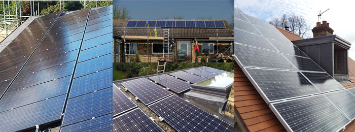 We are experienced solar panel installers