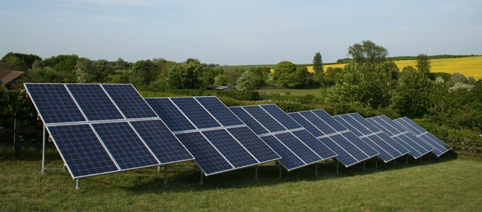 Ground Mounted Solar PV Systems
