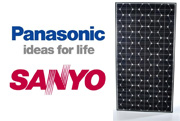 Panasonic Sanyo Solar Panels used to be branded Sanyo