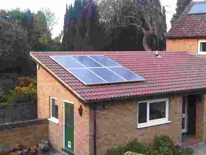 Solar Panels installed in Cambridge