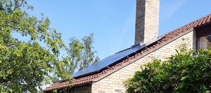 Cambridgeshire Home with a Solar PV system installed